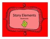 Story Element Bookmarks- Summarizing