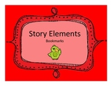 Story Element Bookmarks- Summarizing