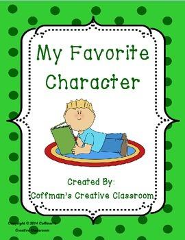 Story Element: Character FREEBIE