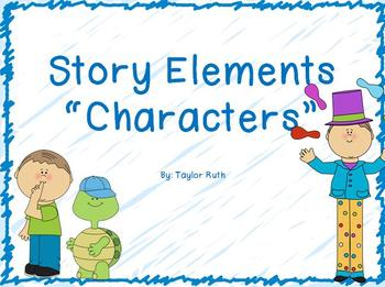 Story Element: Characters Power Point