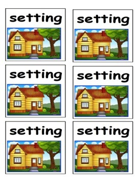 Story Element Flashcards