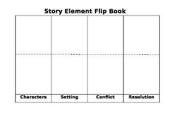 Story Element Flip Book