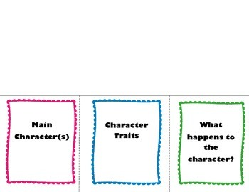 Story Element Flip Chart Bundle