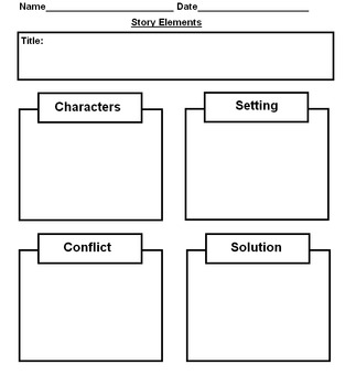 Story Element Graphic Organizer