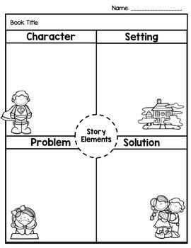 Story Element Graphic Organizer