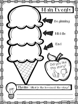 Story Element Graphic Organizer - FREE