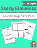 Story Element Graphic Organizer Pack