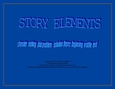 Story Element Graphic Organizers