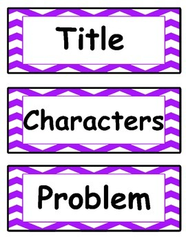 Story Element Headings