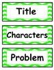 Story Element Headings