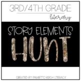 Story Elements Hunt - Paper & Digital