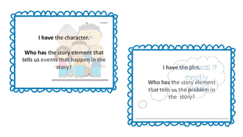 Story Element I Have... Who Has