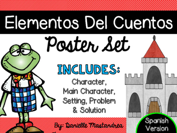 Story Element Poster Set {SPANISH VERSION}