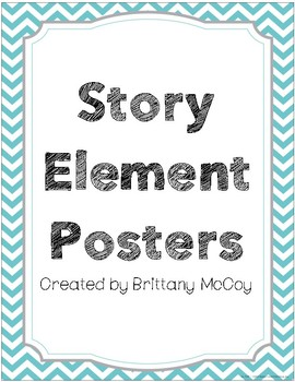 Story Element Posters
