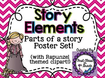 Story Element Posters (Chevron)