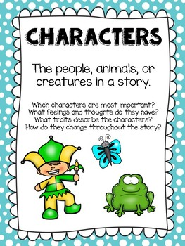 Story Element Posters - Literary Element Posters - Story Elements Posters