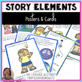 Story Elements Posters and Cards for Every Classroom