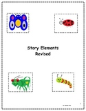 Story Element Posters and Worksheets for Kindergarten Revised