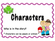 Story Elements - Question Cards