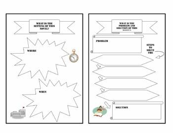 Story Element Scrapbook