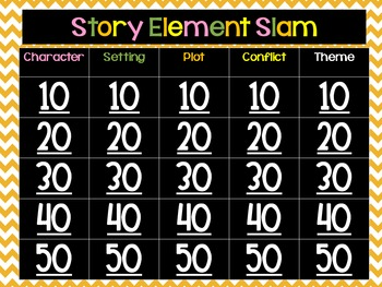 Story Element Slam!