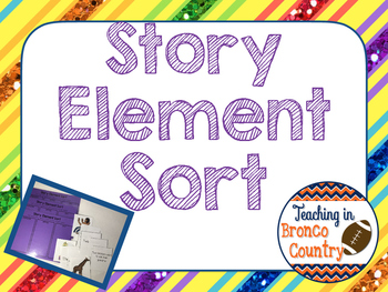 Story Element Sort