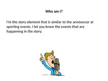 Story Element Who Am I?