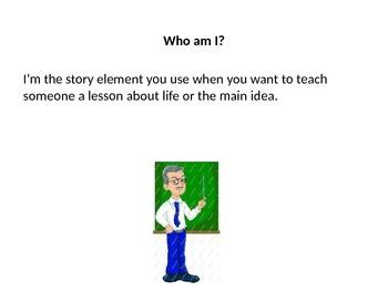 Story Element Who Am I?