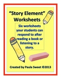 Story Element Worksheets