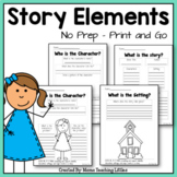 Story Elements - CCSS Aligned