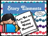 Story Elements Writing Narrative in Fifth Grade