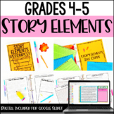 Story Elements Activities with Google Slides™  for Distanc