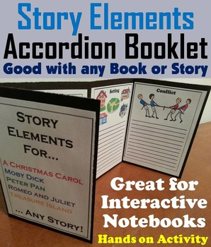 Story Elements Graphic Organizer/ Interactive Notebook Fol