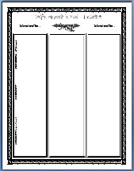 Story Elements: 30 Graphic Organizers