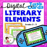 Story Elements - Digital Task Cards for Google Drive