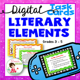 Story Elements - Digital Task Cards for Google Drive