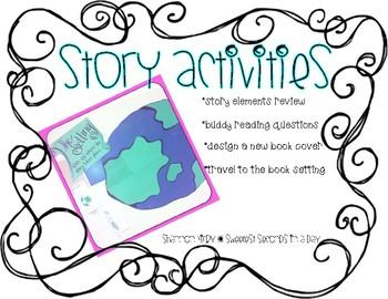 Story Elements Activities {FREEBIE}