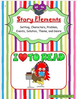 Story Elements Activity Packet
