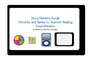 Story Elements Activity Set