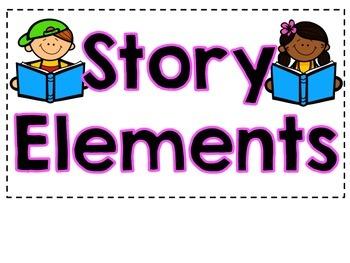 Story Elements Anchor Chart- Freebie