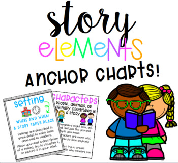 Story Elements Anchor Charts