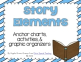 Story Elements (Anchor Charts, Graphic Organizers & More)