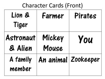 Story Elements - Anchor Charts & Writing Activity
