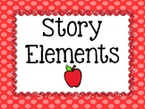 Story Elements Anchor Posters