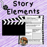 No Prep Printables- Story Elements And Theme Resources