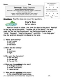 Story Elements Assessment