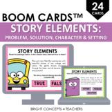 Story Elements BOOM Cards / Digital Task Cards / Distance