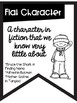 Types of Characters Banners Nautical Theme ~Black & White~ For Easy Printing
