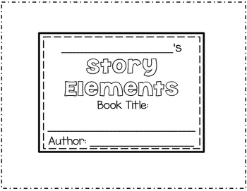 Story Elements Bear Craftivity