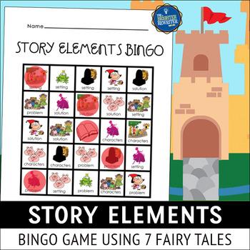 Story Elements Bingo